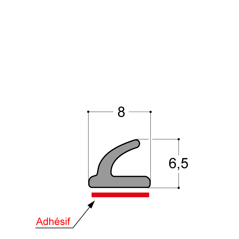 JOINT ADHESIF EPDM CELLULAIRE
